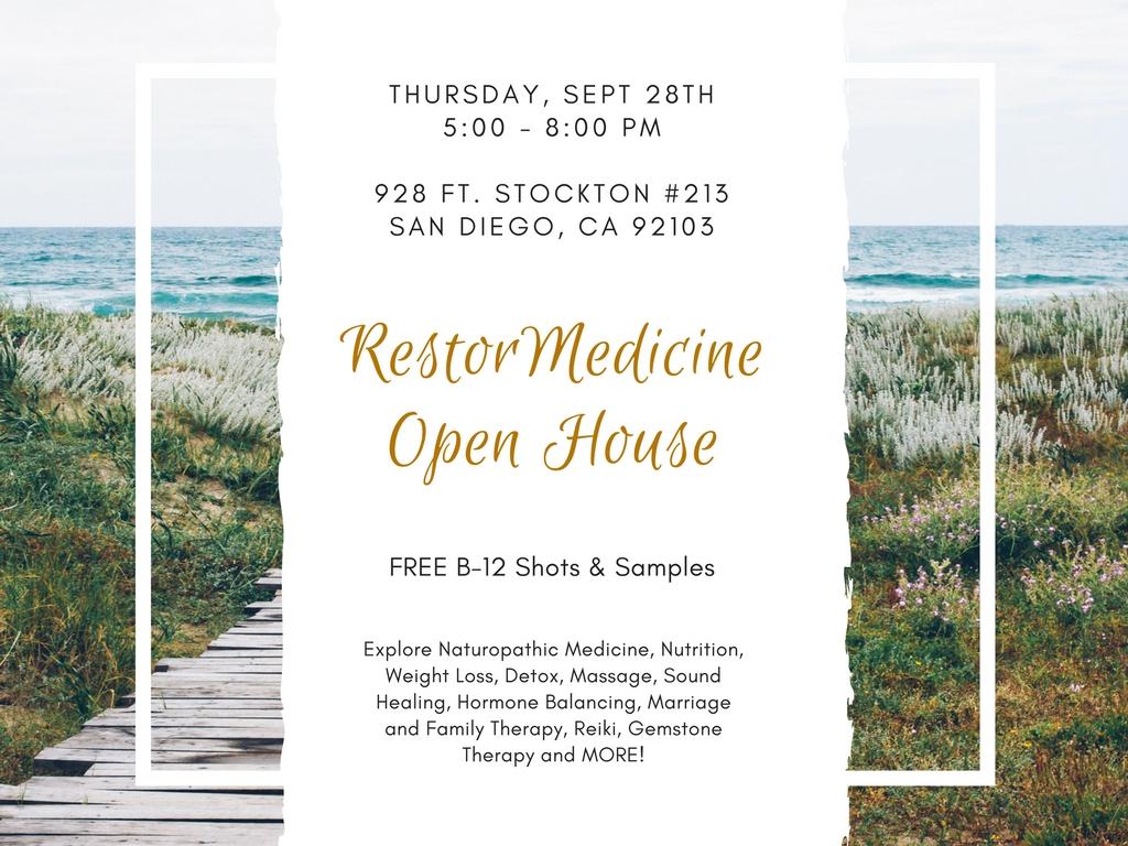 restormedicine open house